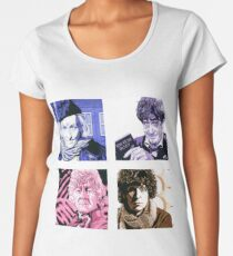 The First Four Time Travellers... Women's Premium T-Shirt