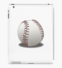 BASEBALL, BALL, SOFTBALL, Pitch, Pitcher, Sport, Game, Bat and Ball game, on WHITE iPad Case/Skin