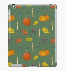 Autumn Halloween pattern iPad Case/Skin