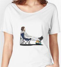 Formula 1 - Fernando Alonso deckchair - Cutout Women's Relaxed Fit T-Shirt
