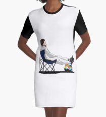Formula 1 - Fernando Alonso deckchair - Cutout Graphic T-Shirt Dress