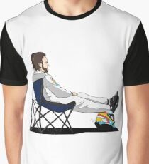 Formula 1 - Fernando Alonso deckchair - Cutout Graphic T-Shirt