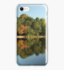 beautiful view of the river landscape iPhone Case/Skin