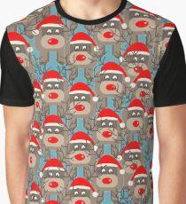 Santa Rudolf Graphic T-Shirt