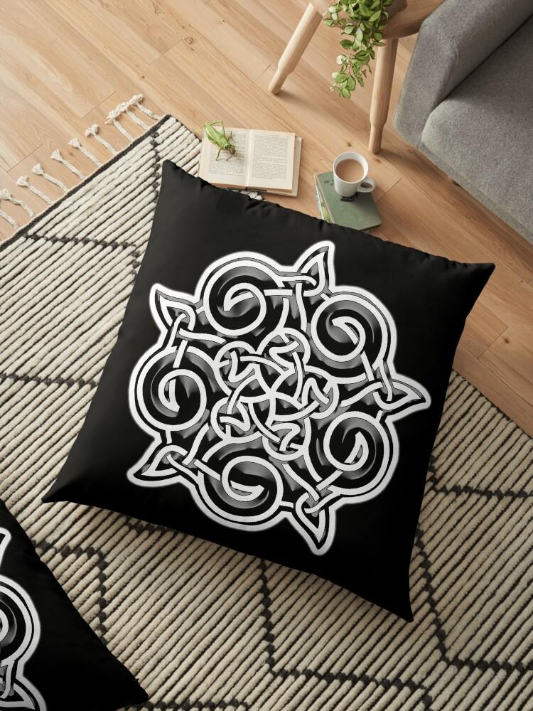 Celtic, Ornament, black\