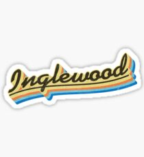 Inglewood | Retro Rainbow Sticker
