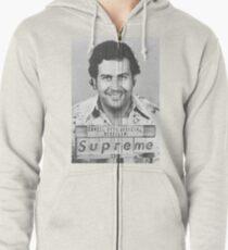 Sudadera con capucha y cremallera Pablo Escobar Supremo