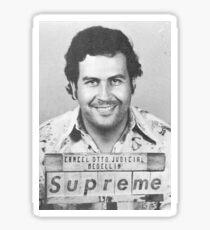 Pablo Escobar Supreme Sticker