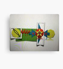 Page, MACBOOK PRO, Experimental design Canvas Print