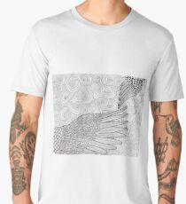 words-wings of love Men's Premium T-Shirt