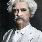 Mark Twain by Marina Amaral