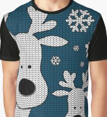 Cute Reindeer  Graphic T-Shirt