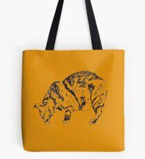 Japanese bobtail cat, artwork Tote Bag