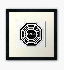 Dharma Initiative logo Framed Print