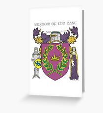 Kingdom of the East Greeting Card