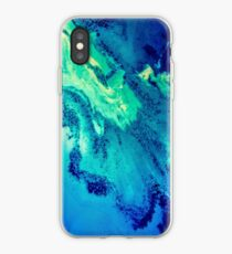 Apple iPhone Color Me Blue iPhone Case