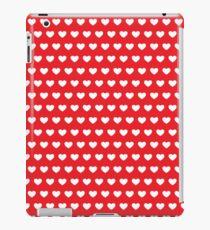 Polka Hearts Red iPad Case/Skin