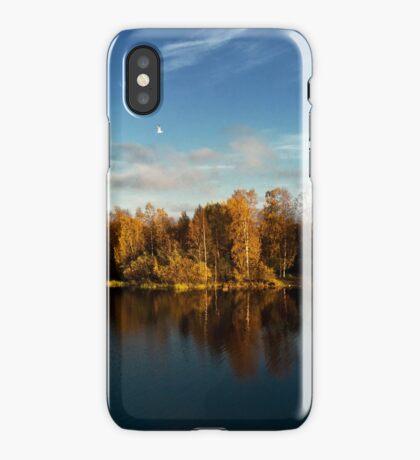 Autumn in Oulu iPhone Case