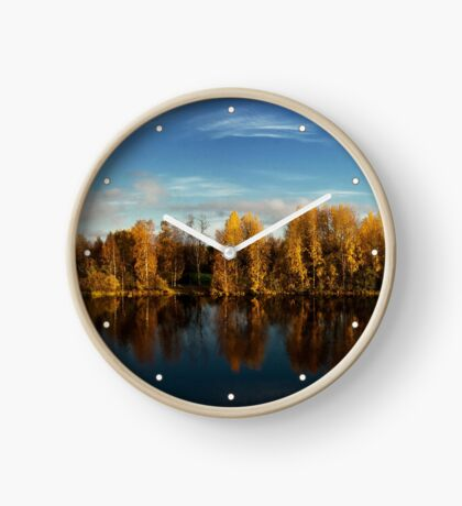 Autumn in Oulu Clock