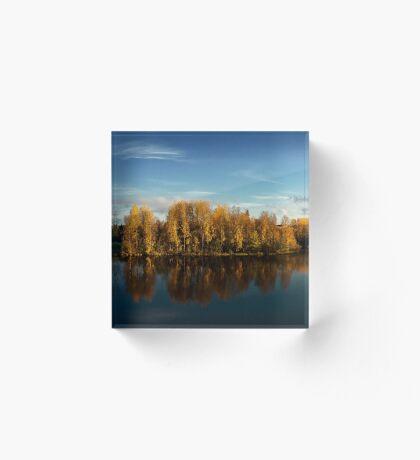 Autumn in Oulu Acrylic Block