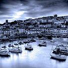 Dusky blue harbour by DualAspect