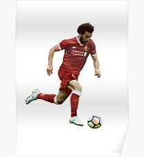 Mohamed Salah Artwork Poster