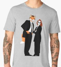 Fox and Scully - The X Files Men's Premium T-Shirt
