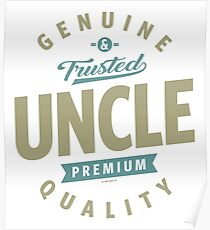 Genuine Uncle Poster