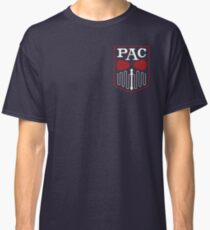 PAC Logo - Red and White (Small) Classic T-Shirt
