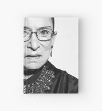 RBG Dissent Collar Ruther Bader Ginsburg Hardcover Journal