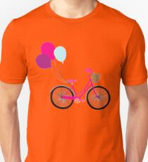 bicycle with balloons T-Shirt