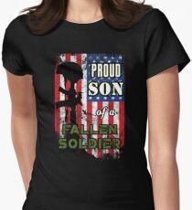 Proud Son of a Fallen Soldier Veterans Day Shirt T-Shirt