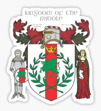 The Kingdom of the Middle Sticker