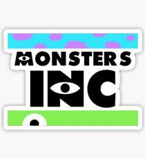 Monsters, INC. Sticker