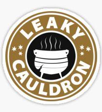 Leaky Cauldron  (caramel) Sticker
