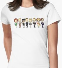 WHO-DUN-IT Women's Fitted T-Shirt