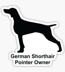 German Shorthair Dog Owner Lover Sticker