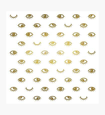Golden eyes Impression photo