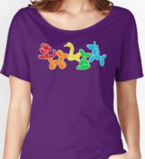Jam Room Floor Balloon Animals Women's Relaxed Fit T-Shirt