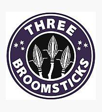 Three Broomsticks Photographic Print