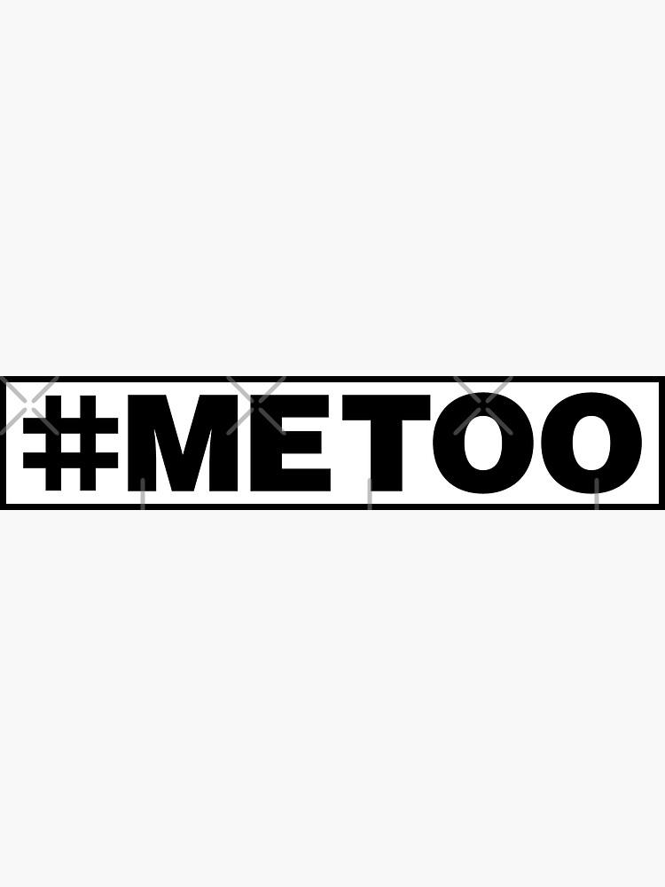 #MeToo Sticker by feministshirts