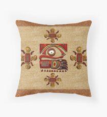 Chu Mtu African Folk Art Throw Pillow