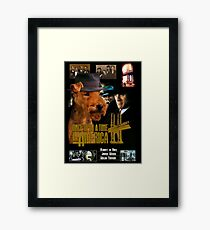 Welsh Terrier Art Canvas Print - Once Upon a Time in America Movie Poster Framed Print