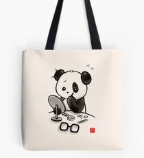 Panda Makeup Tote Bag