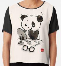 Panda Make-up Chiffontop