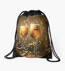 Happy New Year Drawstring Bag