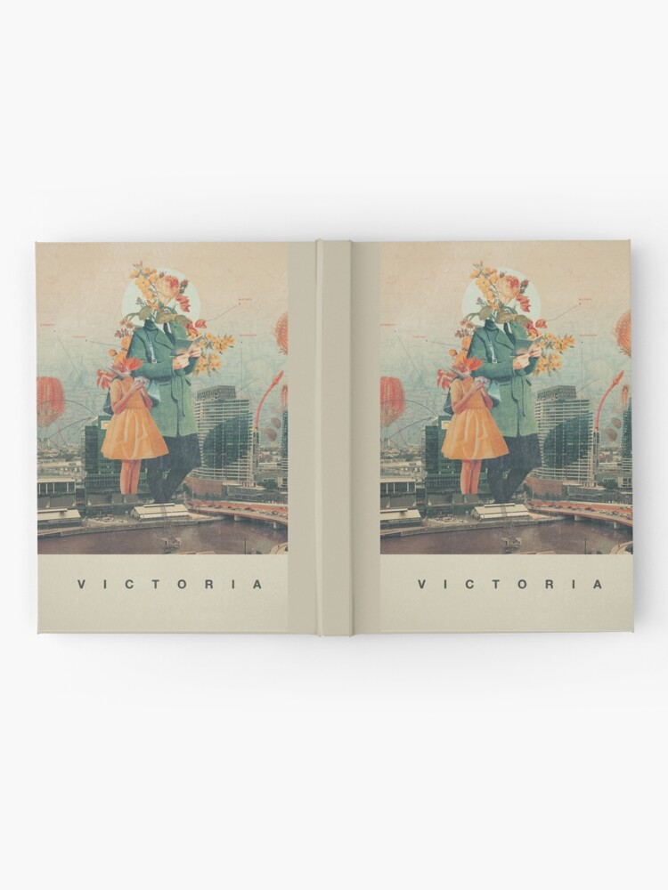 Alternate view of Victoria Hardcover Journal