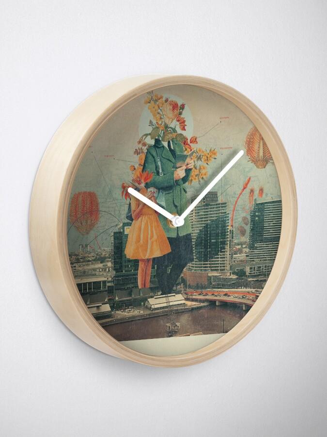 Alternate view of Victoria Clock