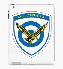 Hellenic Air Force Seal  iPad Case/Skin