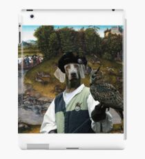 Weimaraner Art Canvas Print - The Stag Hunt of the Elector Frederic the Wise iPad Case/Skin